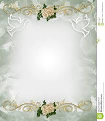 doves wedding invitations blue background matik for