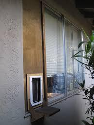 cat doors for glass doors the handcrafted life how to build a custom cat door in a window