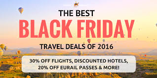black friday sales on airline tickets the best black friday travel deals for 2016 thrifty nomads
