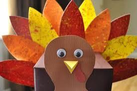 craft thanksgiving turkey template creative