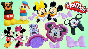 play doh mickey mouse minnie mouse disney play doh playsets