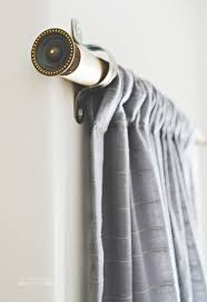 Grey Wooden Curtain Pole 10 Homemade Curtain Rods You Can Make