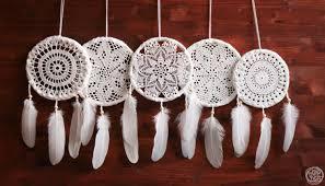 Home Decorations Wholesale by Wholesale 5 Crochet Dream Catchers Boho Home Decor