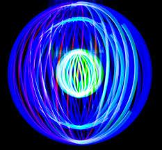 ledmorpher rotating led light show hacked gadgets diy tech