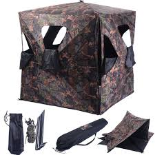 amazon com blind u0026 tree stand accessories ground hunting blind