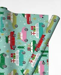 cars wrapping paper christmas cars as gift wrap by winter juniqe