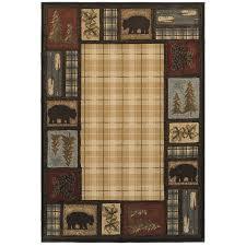 shop oriental weavers of america hideaway multi rectangular indoor