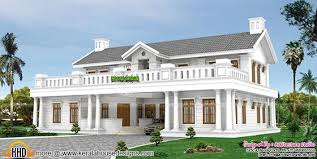 luxury colonial house plans october 2015 kerala home design and floor plans