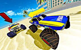 monster trucks races cartoon cars monster truck chase simulator free racing game android apps on