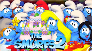 smurfs 2 video game story cutscenes compilation