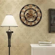 horloge murale engrenage indogate com decoration cuisine europeenne