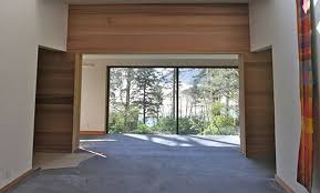 Large Room Divider 15 Ft X 9 Ft Wood Double Sliding Doors Insulated Large Room