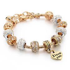 snake chain charm bracelet images Szelam 2018 high quality heart charm bracelets for women snake jpg