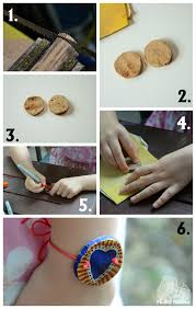 bracelet craft diy images Diy crafts wood slice bracelet for besties mother natured jpg