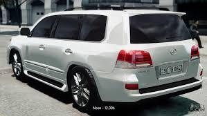 toyota lexus x 570 lexus lx 570 2014 sport for gta 4