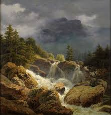 Mountain Landscape Paintings by 4389 Best Paintings Mountains And Streams Images On Pinterest