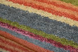 Gray Green Rug Stripes Luxury Wool Rugs Multi Orange Blue Green Rug