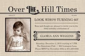 60th birthday invitations birthday party invitations