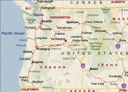 map usa northwest us northwest map