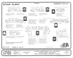 Star Trek Enterprise Floor Plans by Enterprise 1701 Bridge Blueprints