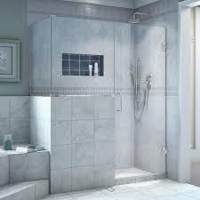 40 Inch Shower Door Dreamline Unidoor Plus 40 3 8 In X 54 In X 72 In Frameless