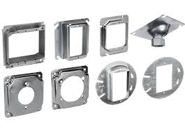 and rings electrical box covers and rings steel products