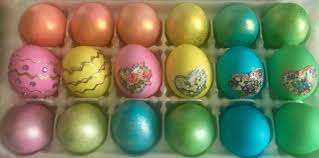 decorative easter eggs decorated easter eggs what s cooking america