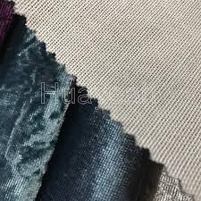 Crushed Velvet Fabric Upholstery Sofa Fabric Upholstery Fabric Curtain Fabric Manufacturer High