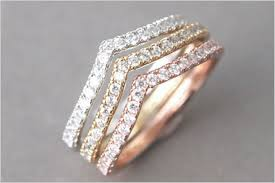 stackable engagement rings 12 brilliant engagement bands that are better than rings