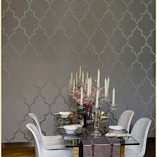 wall stencils for bedrooms home decor wall stencils modern dining room new york by