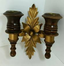 home interiors votive cups sconce votive cups for sconces vintage home interior wood brass