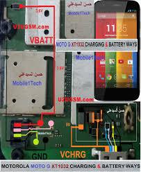 moto g xt1032 battery connector terminal jumper ways