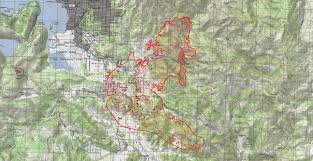 Wildfire Map Near Me by Update 9 47 P M Hwy 53 Reopened Maps Of The Clayton Fire