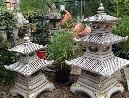 innovative concrete garden decor asian garden and statuary