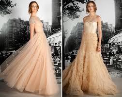 winter wedding dresses 2011 wedding trends blush wedding dresses the magazine the