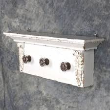 shelf with coat hooks wayfair