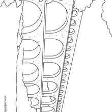 mont blanc mountain coloring pages hellokids