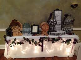 wine theme wedding gift table wedding decor pinterest