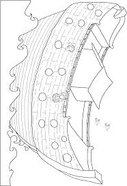 noah ark coloring pages noahus ark maze could be colored with