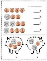 learn the coins the nickel the coin worksheets and coins