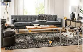 Room And Board Sofa Bed Amira Black Onyx Rug Modern Rugs Room U0026 Board