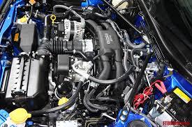 subaru brz boxer engine subaru brz engine bay engine pictures