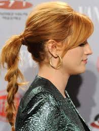 layer hair with ponytail at crown messy braided ponytail with puffy crown and side sweep modren villa