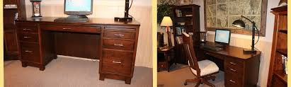 Custom Made Office Furniture by Amish Custom Furniture And Accents Amish Built Office Furniture