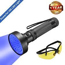 bed bug uv light uv black light flashlight super bright 100 led 1 best pet dog cat