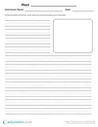 2nd grade writing worksheets u0026 free printables education com