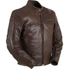 retro motorcycle jacket furygan vince corsaire leather motorcycle jacket mens vintage