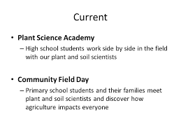agriculture projects for students youth projects department of plant and soil sciences ppt download