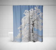 Tree Curtain Unique Shower Curtains Cool U0026 Exclusive Looks For Your Bathroom