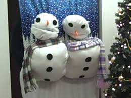 snowman door decorations snowmen door decorations